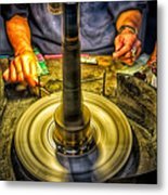 Craftsman Jewelry Maker Metal Print