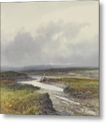 Cranmere Pool, Dartmoor Metal Print