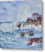 Crashing Wave IIi Metal Print