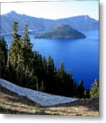 Crater Lake 12 Metal Print