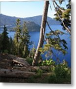 Crater Lake 9 Metal Print