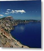 Crater Lake A Caldera Lake  Metal Print