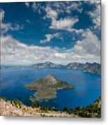 Crater Lake From Watchman Overlook Metal Print