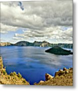 Crater Lake I Metal Print