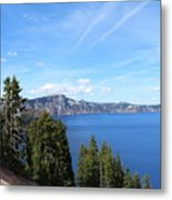 Crater Lake View  Metal Print