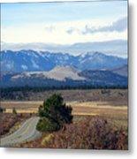 Crater Road California Metal Print