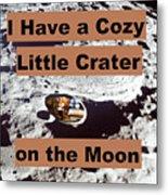 Crater1 Metal Print