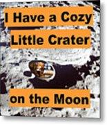 Crater16 Metal Print