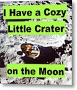 Crater18 Metal Print
