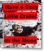Crater2 Metal Print