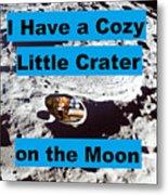 Crater30 Metal Print