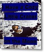 Crater32 Metal Print