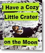 Crater39 Metal Print