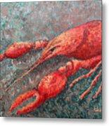 Crawfish Metal Print