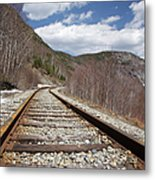 Crawford Notch State Park - Maine Central Railroad Metal Print