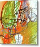 Crayon Scribble#3 Metal Print