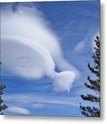 Crazy Clouds Metal Print