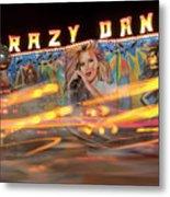 Crazy Dance Metal Print