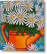 Crazy For Daisies Metal Print