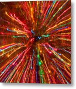Crazy Fun Colorful Abstract Metal Print
