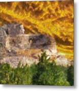 Crazy Horse Monument Pa Metal Print
