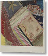 Crazy Quilt (detail) Metal Print