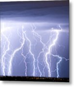 Crazy Skies Metal Print by James BO  Insogna
