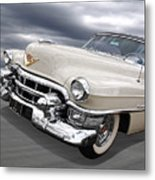 Cream Of The Crop - '53 Cadillac Metal Print
