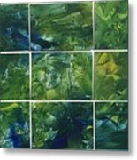 Creation - Jungle Metal Print
