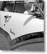 Creative Chrome - 1956 Ford Fairlane Victoria Metal Print
