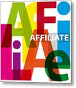 Creative Title - Affilate Metal Print