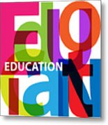 Creative Title - Education Metal Print