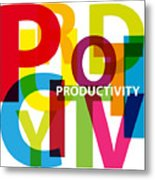 Creative Title - Productivity Metal Print