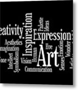 Creativity Art Inspiration Metal Print