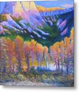 Creator Mountain Metal Print