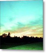 Creator's Sky Painting Metal Print