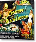 Creature From The Black Lagoon Metal Print by Everett