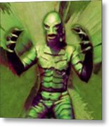 Creature From The Black Lagoon Metal Print