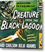 Creature From The Black Lagoon, Upper Metal Print