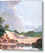 Credit River Farm Metal Print