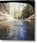 Creek At The Ridge Metal Print