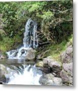 Creek On Kalalaua Trail Metal Print