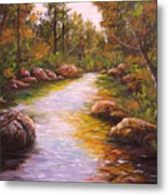 Creek Retreat Vii Metal Print