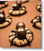 Creepy Crawly Spider Bites. Halloween Food Metal Print