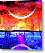 Crescent City Metal Print