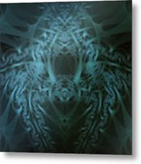Crested Metal Print