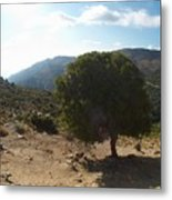 Crete Inland View Metal Print