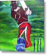 Cricket Warrior Metal Print