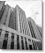 criminal courts building and tombs south building manhattan detention complex New York City USA Metal Print
