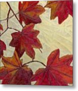 Crimson Branch Metal Print